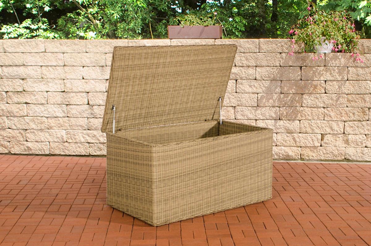 Luxus Auflagenbox 5mm-natura-XL   Garten > Gartenmöbel > Aufbewahrung   CLP