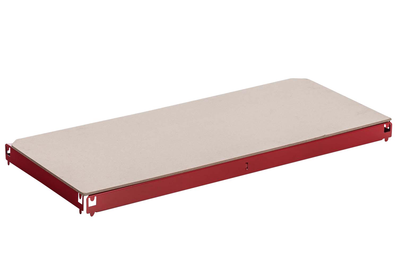 Einlegeboden, Ersatzteil Regal-Boden für Schwerlastregal 90 x 40 cm-rot   Baumarkt > Werkbank   CLP