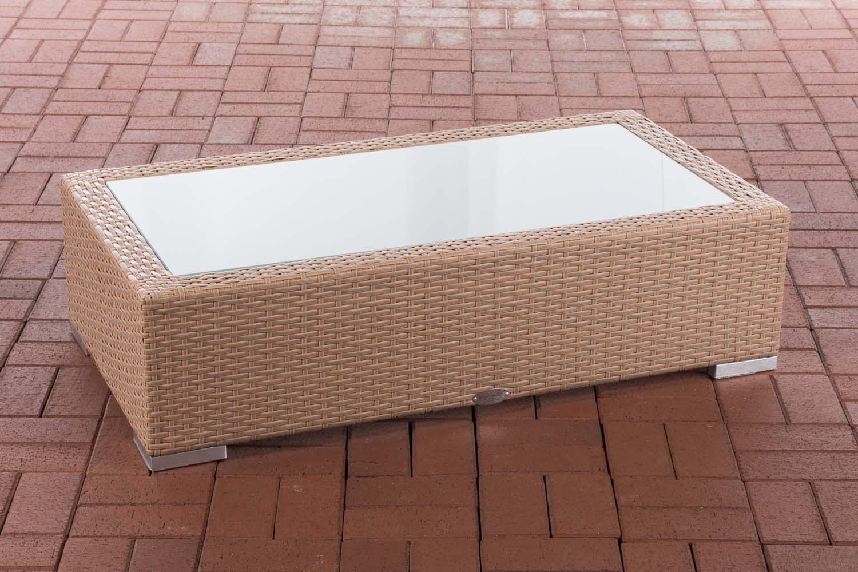 Glastisch Provence-sand | Wohnzimmer > Tische > Glastische | Loraville