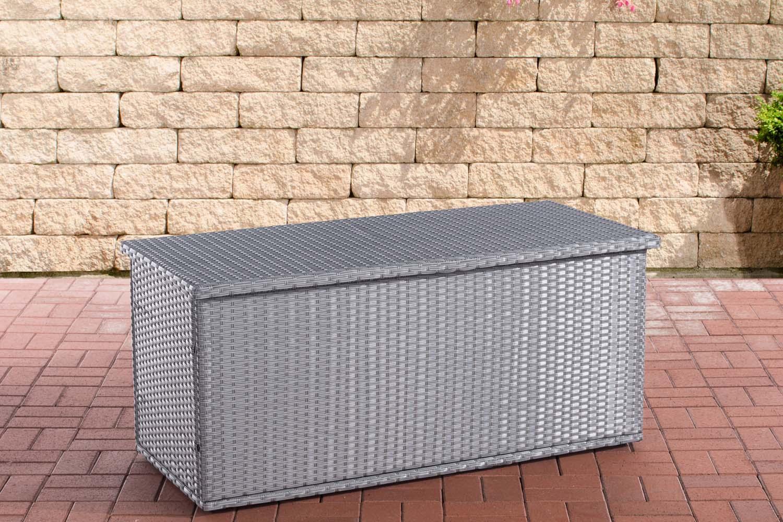 Auflagenbox Comfy-grau-125 | Garten > Gartenmöbel > Aufbewahrung | Loraville