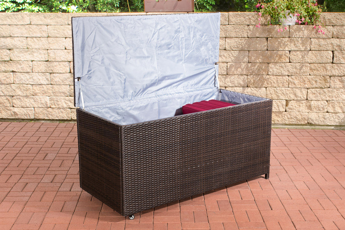 Auflagenbox Kudde 150 cm-braunmeliert   Garten > Gartenmöbel > Aufbewahrung   Loraville