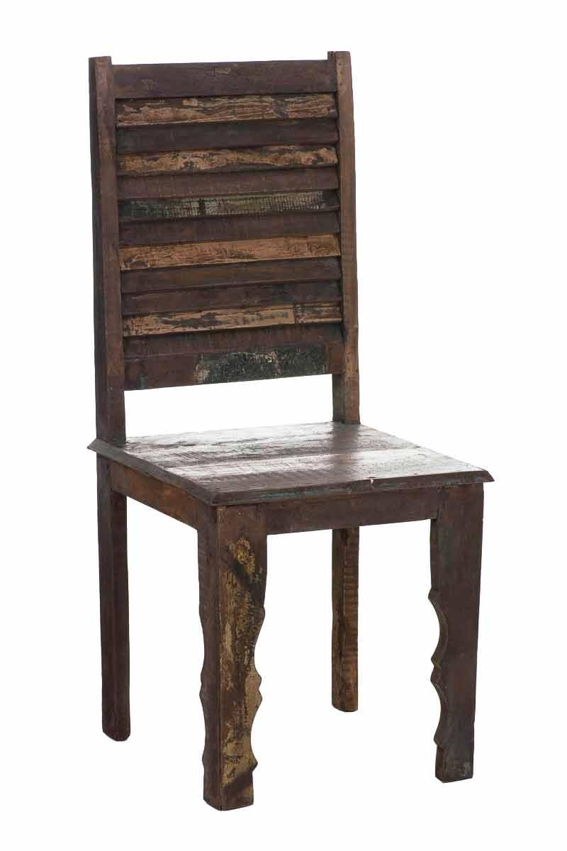 Esszimmerstuhl Shukra Teak Holz Bunt Esszimmerstühle