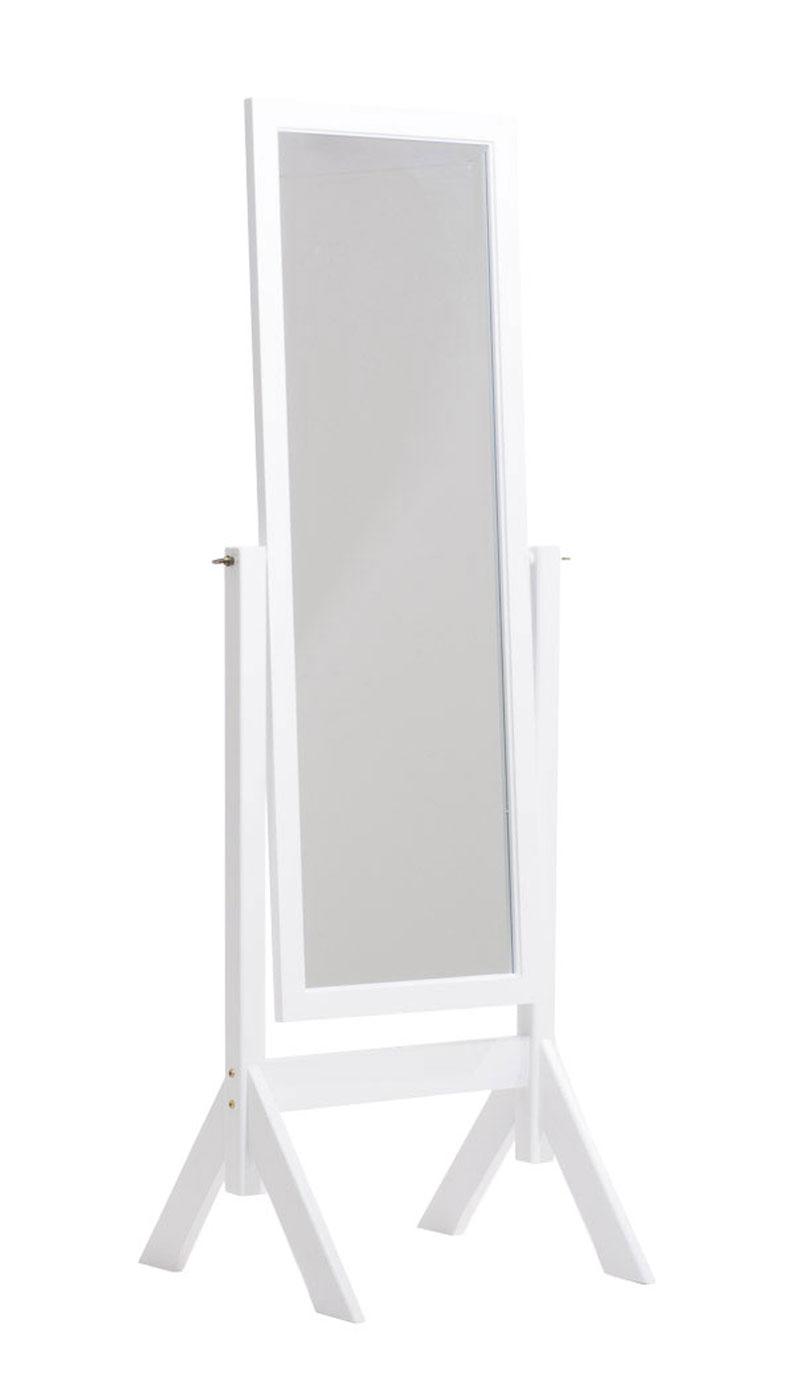 Standspiegel Elvis-weiß | Flur & Diele > Spiegel > Standspiegel | CLP