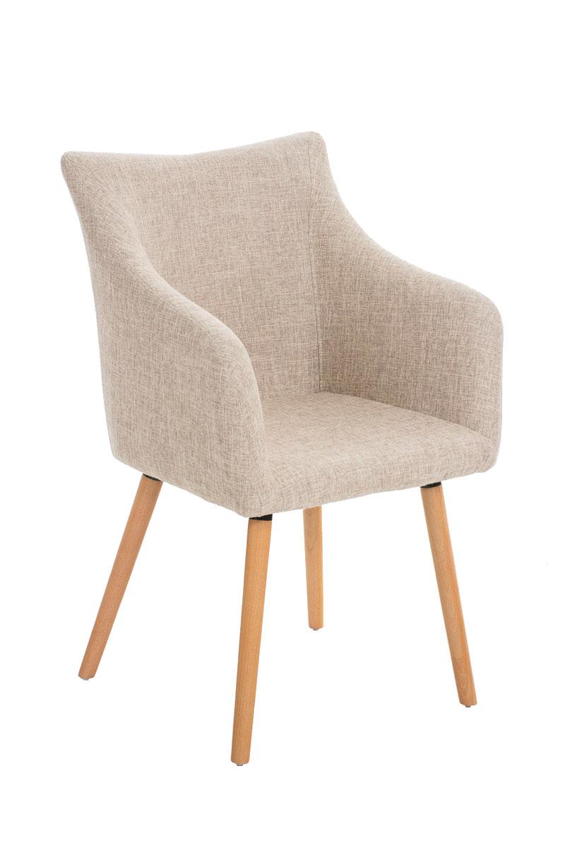 Besucherstuhl McCoy Stoff-creme   Büro > Bürostühle und Sessel  > Besucherstühle   PAAL Office Furniture
