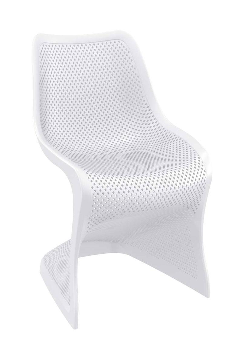 Kunststoffstuhl Bloom-weiß | Garten > Balkon > Balkonstühle | Siesta Outdoor Furniture