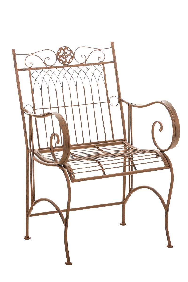 Stuhl Purusha-antik/braun | Garten > Balkon > Balkonstühle | CLP