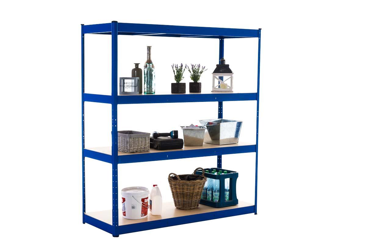 Steckregal 160x60x180-blau   Baumarkt > Werkbank   CLP