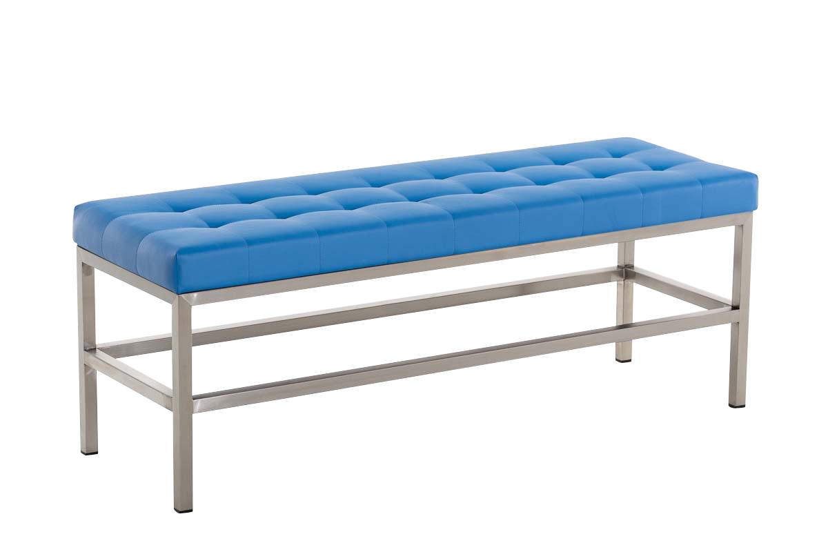 Sitzbank St. Pauli Kunstleder-blau-120 cm   Küche und Esszimmer > Sitzbänke   Bauwerk Manufacture