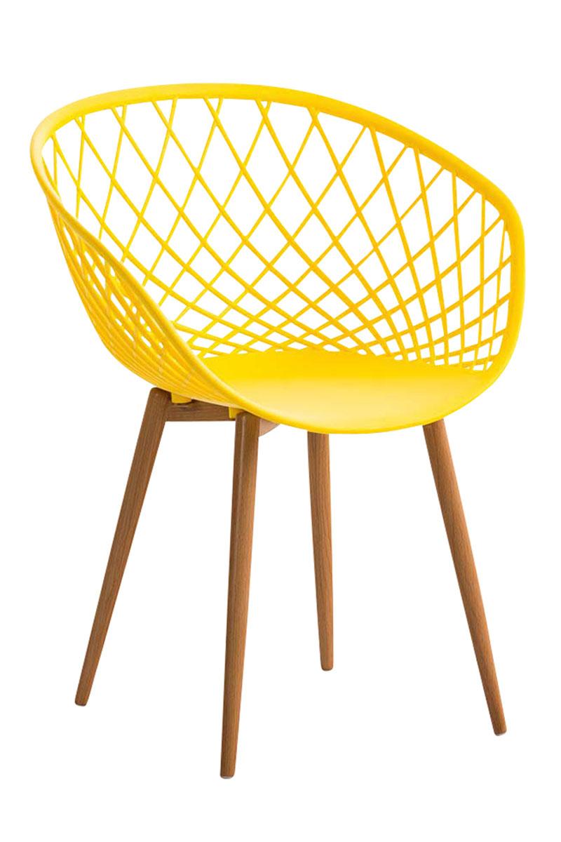 Besucherstuhl Mora-gelb | Büro > Bürostühle und Sessel  > Besucherstühle | Larico Design Möbel