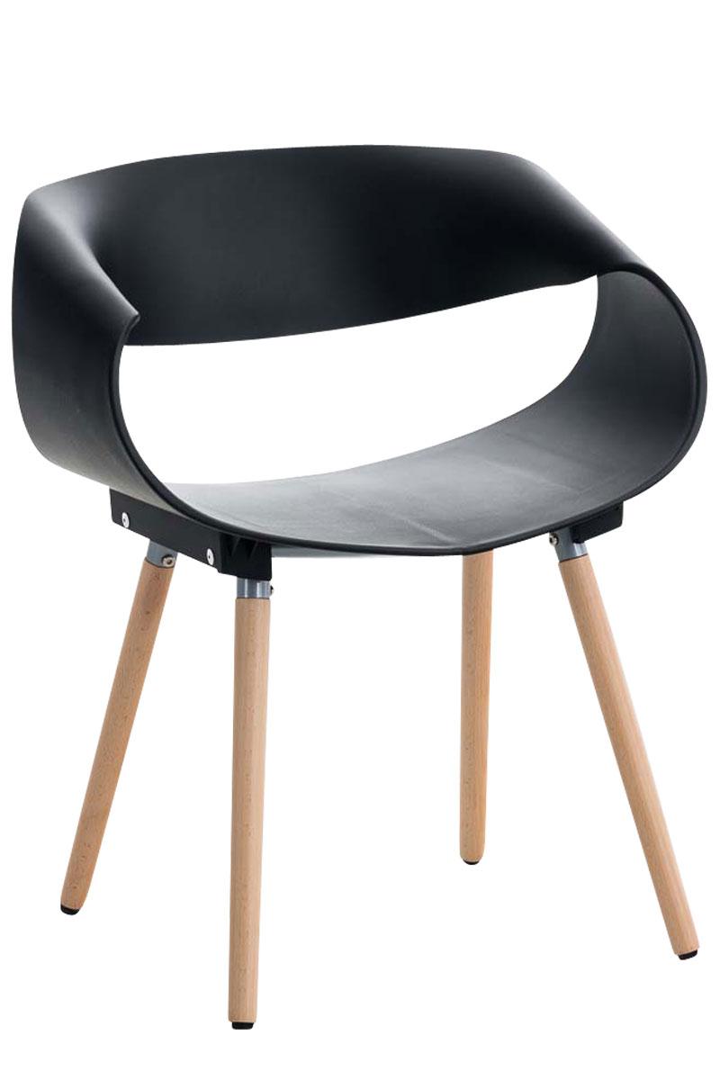 Besucherstuhl Tuva-schwarz | Büro > Bürostühle und Sessel  > Besucherstühle | Larico Design Möbel
