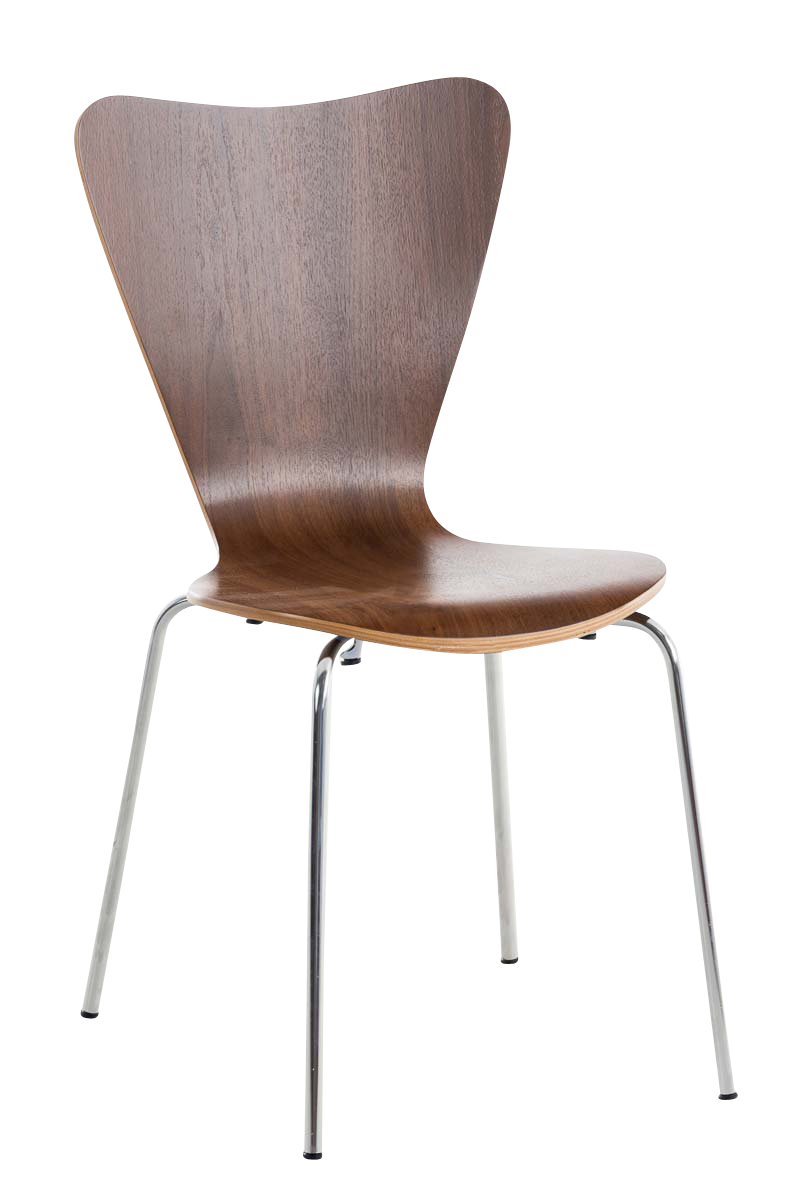 Besucherstuhl Calisto-walnuss | Büro > Bürostühle und Sessel  > Besucherstühle | PAAL Office Furniture