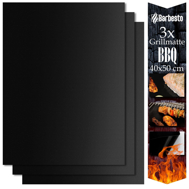 Grillmatten Set-40x50 cm (3er Set) | Garten > Balkon > Grill und Zubehör | CLP