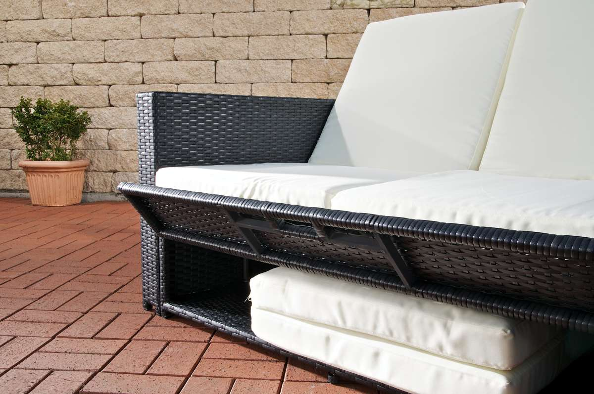 Polyrattan Sofa. Beautiful Polyrattan Sofa Various Colours With ...