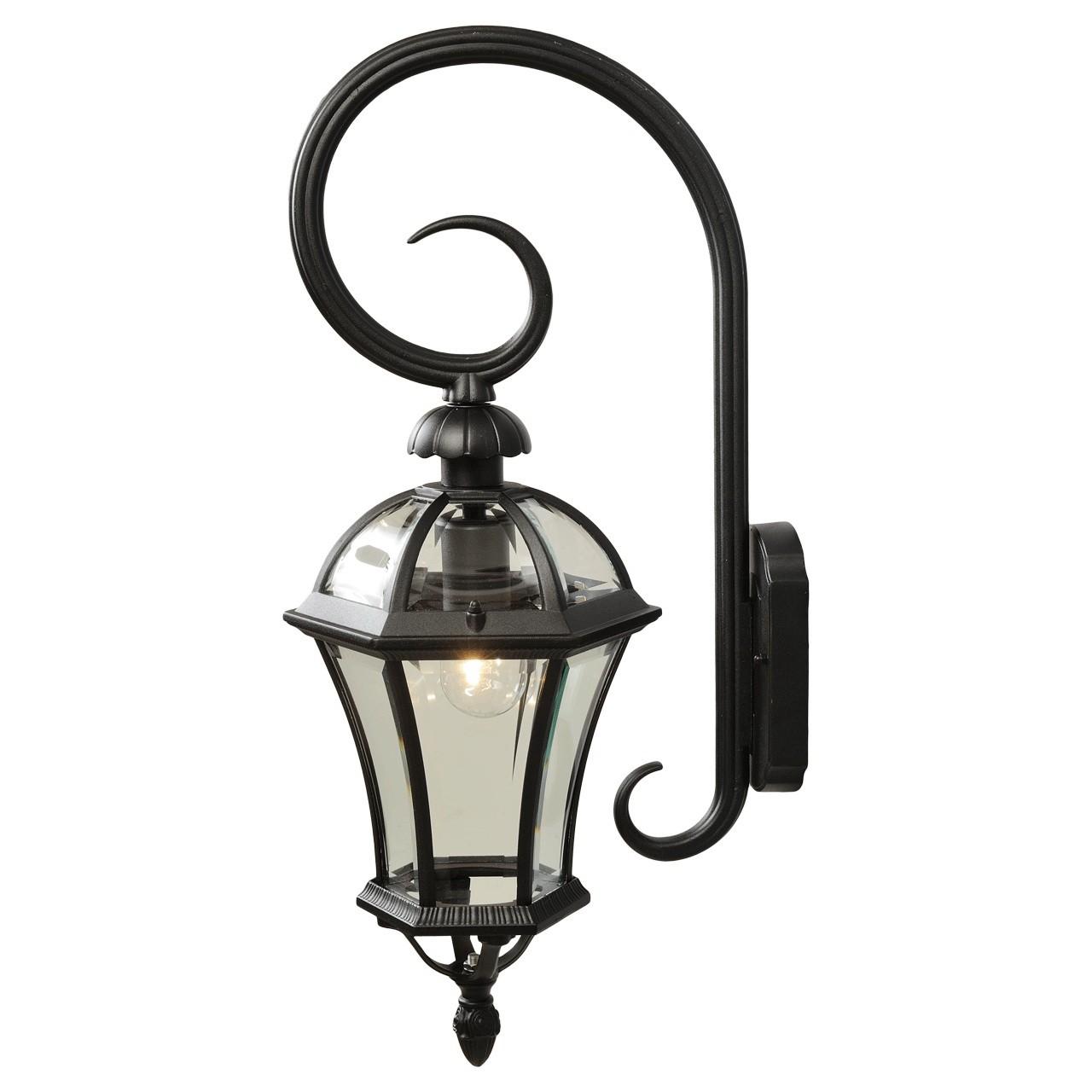 Außen Wandleuchte Street 811020401-schwarz   Lampen > Aussenlampen   CLP