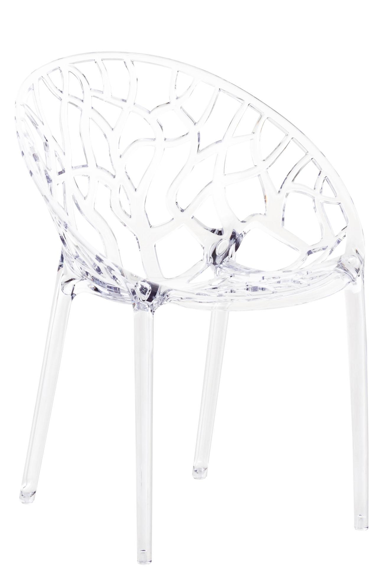 Stapelstuhl CRYSTAL-transparent | Küche und Esszimmer > Stühle und Hocker > Esszimmerstühle | Siesta Outdoor Furniture