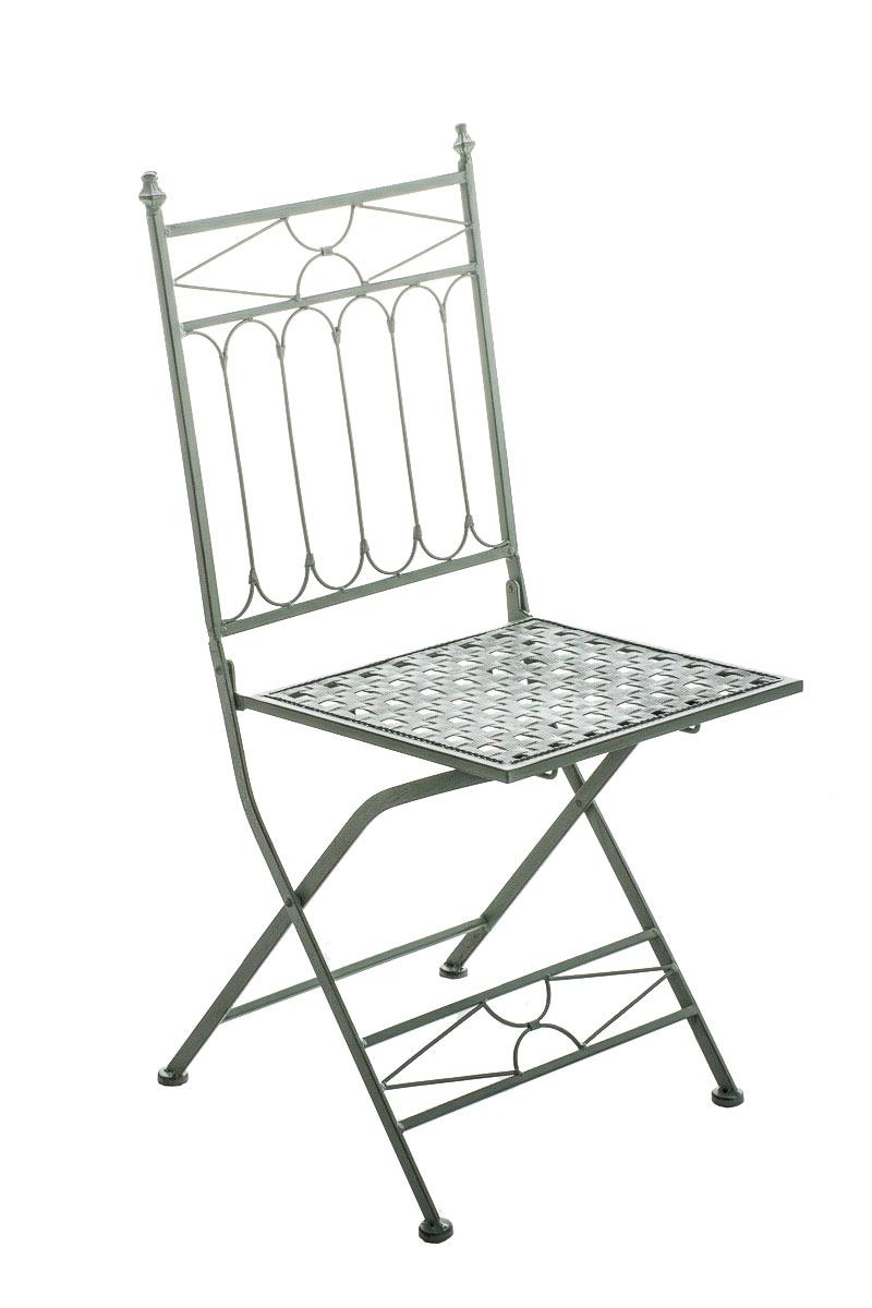 Klappstuhl Asina-antik_grün | Küche und Esszimmer > Stühle und Hocker > Klappstühle | Grün | CLP