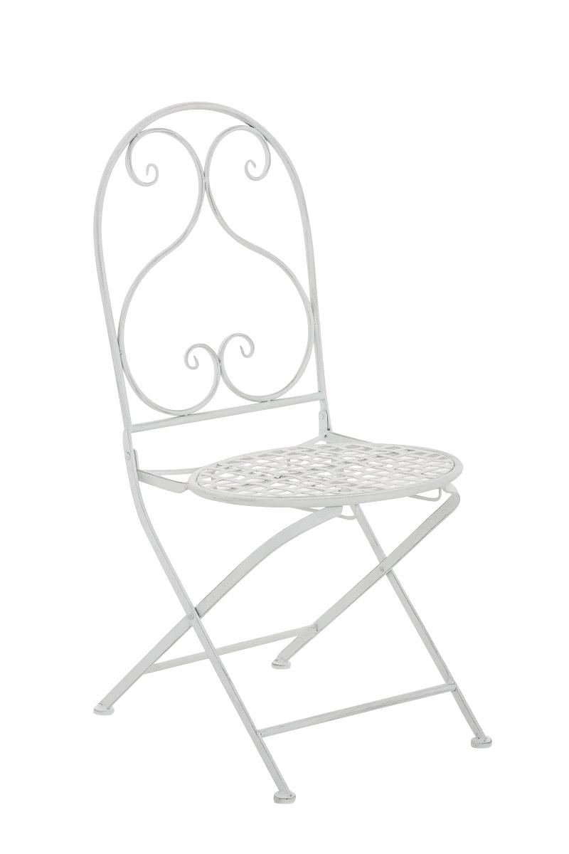 Klappstuhl Vahan-antik_weiß | Küche und Esszimmer > Stühle und Hocker > Klappstühle | Weiß | CLP
