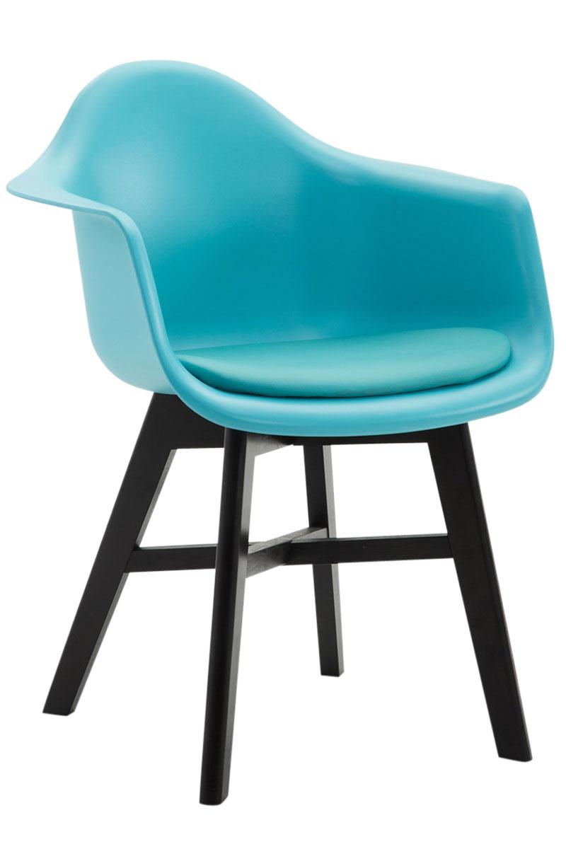 Besucherstuhl Calgary Kunstleder-blau-Schwarz | Büro > Bürostühle und Sessel  > Besucherstühle | Larico Design Möbel