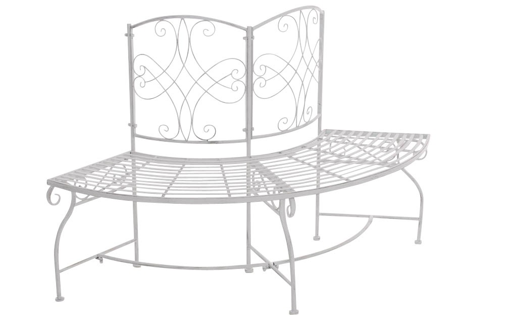 runde eckbank lorena aus eisen clp. Black Bedroom Furniture Sets. Home Design Ideas