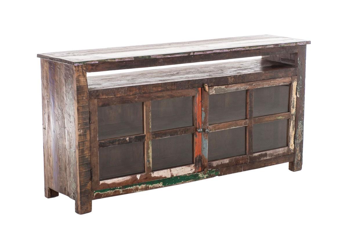 TV Möbel Board Saguna, Teakholz