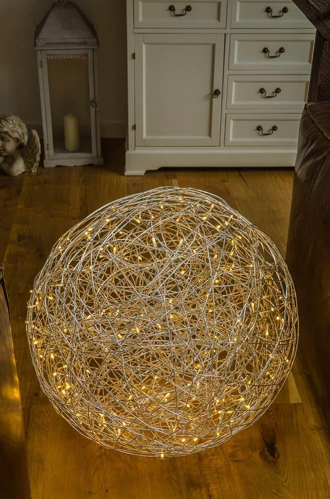Leuchtkugel Pearl, Aluminium