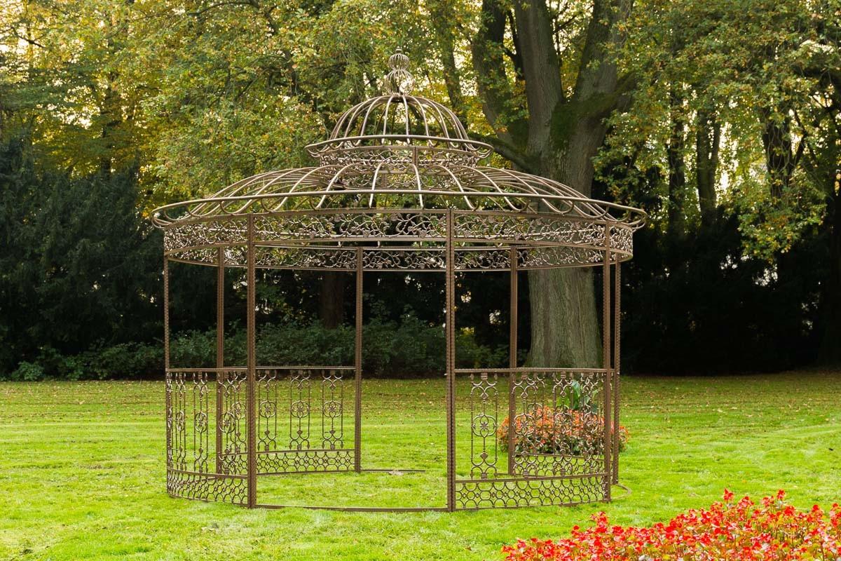 Luxus Pavillon XXL Romantik rund Ø 5 m