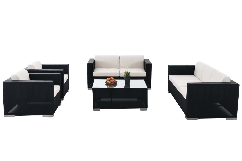 Garnitur brac xl lounge set aus stoff i clp for Lounge garnitur terrasse