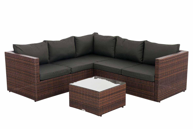 Ecksofa garnitur genero loungem bel gartenm bel for Lounge garnitur terrasse