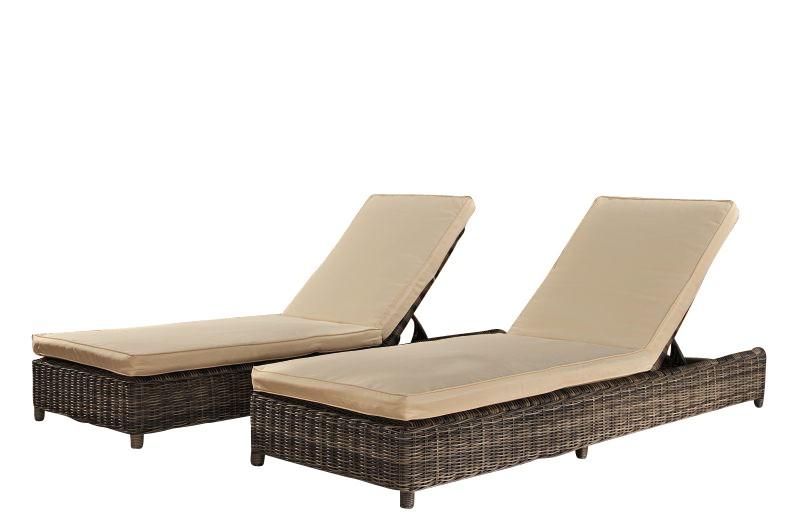 Set 2 bains de soleil Burano