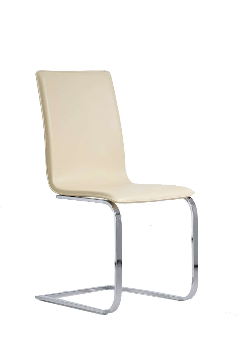 Freischwinger Stuhl Bianca