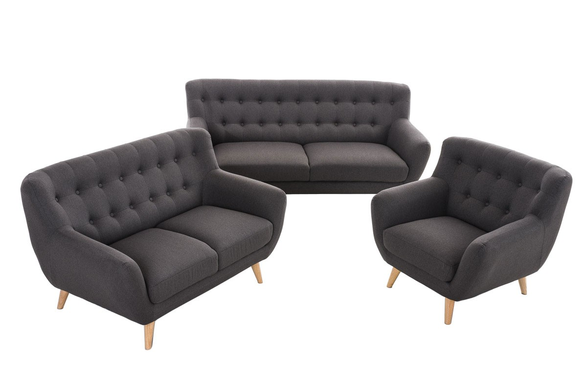 couch garnitur rihanna 3 2 1 i clp. Black Bedroom Furniture Sets. Home Design Ideas