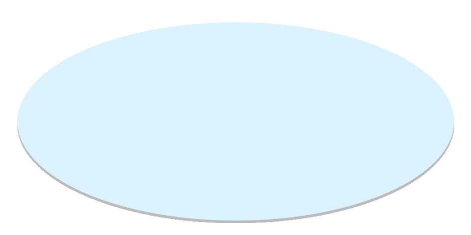 Glasplatte Gartentisch Farsund 90x90 cm