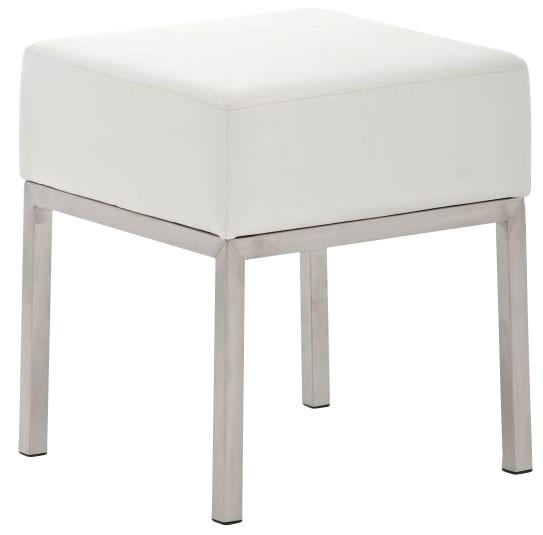 edelstahl sitzhocker lamega clp. Black Bedroom Furniture Sets. Home Design Ideas