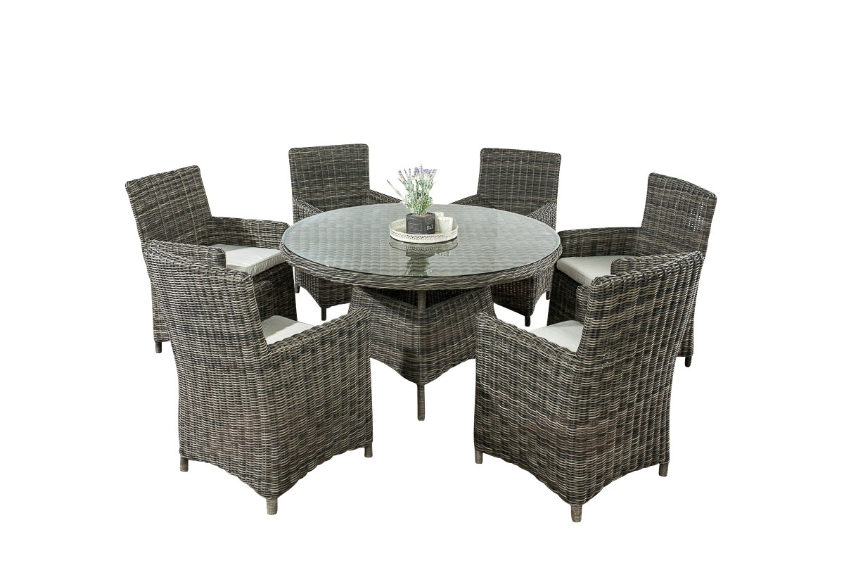rattan garten sitzgruppe larino i clp. Black Bedroom Furniture Sets. Home Design Ideas