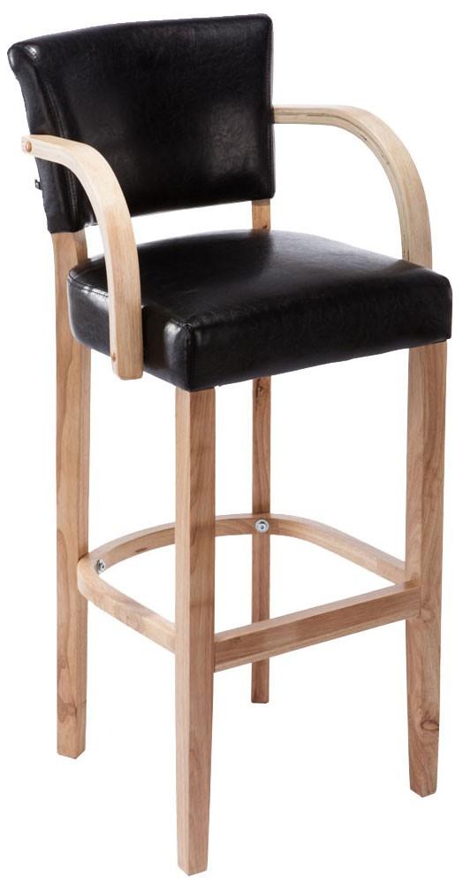 barhocker lionel mit armlehne natura i clp. Black Bedroom Furniture Sets. Home Design Ideas