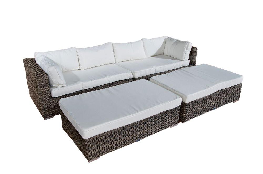 Lounge Sofa Terrassa Loungemöbel Gartenmöbel Balkon Terrasse