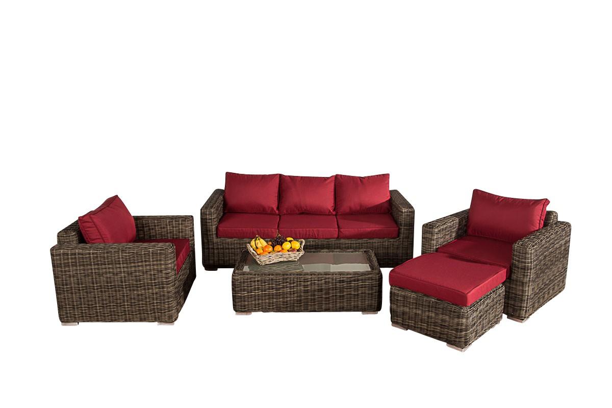 Lounge garnitur madeira 3 1 1 i clp for Lounge garnitur terrasse