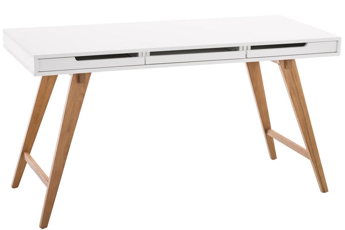 Schreibtisch Porto, weiß