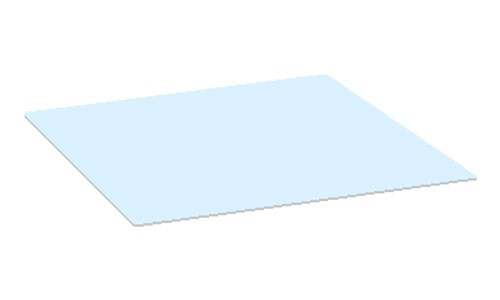 Glasplatte Gartentisch Piri 60x60 cm