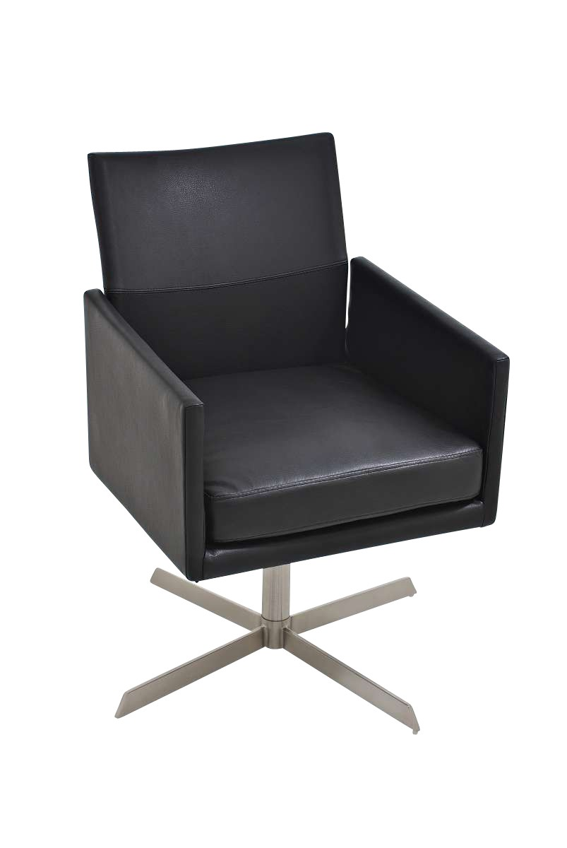 Edelstahl Loungesessel Cubic