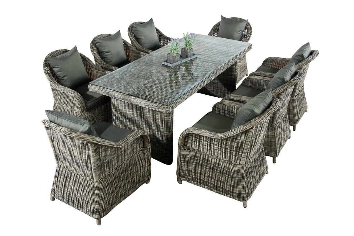 Luxus Garten Sitzgruppe Lavello XL