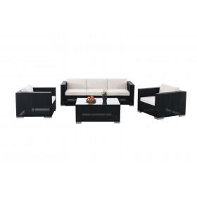 Garnitur Brac 3-1-1, Lounge-Set aus Stoff