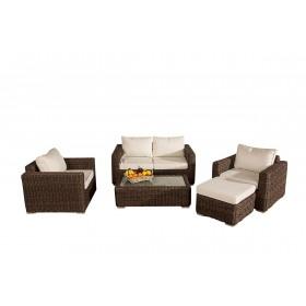 Lounge-Garnitur Madeira 2-1-1