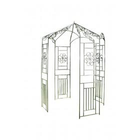 Pavillon Rosenbogen aus Eisen
