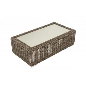 Rattan Lounge Tisch Madeira 110 x 60