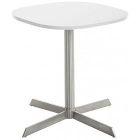 Edelstahl Tisch Charleston 60 x 60 cm , Höhe: 55 cm