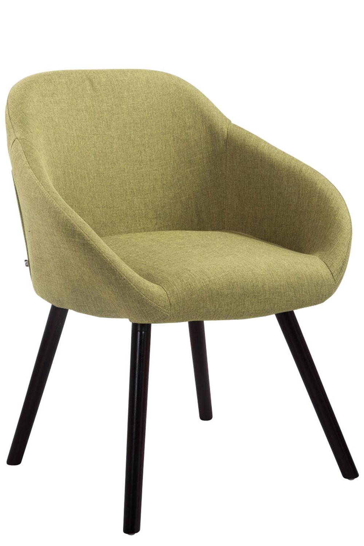 Besucherstuhl Hamburg Stoff-grün-Coffee | Büro > Bürostühle und Sessel  > Besucherstühle | Timwood Experience