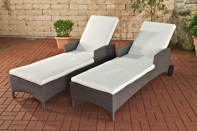 Amazing Sonnenliege Polyrattan With Sonnenliege Polyrattan With Sonnenliege  Polyrattan Grau