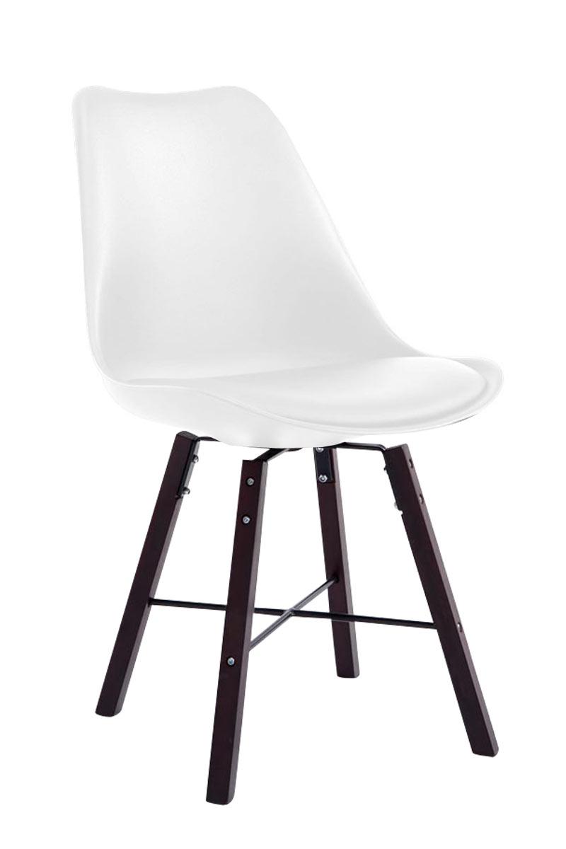 Besucherstuhl Laffont Cappuccino-weiß | Büro > Bürostühle und Sessel  > Besucherstühle | Larico Design Möbel