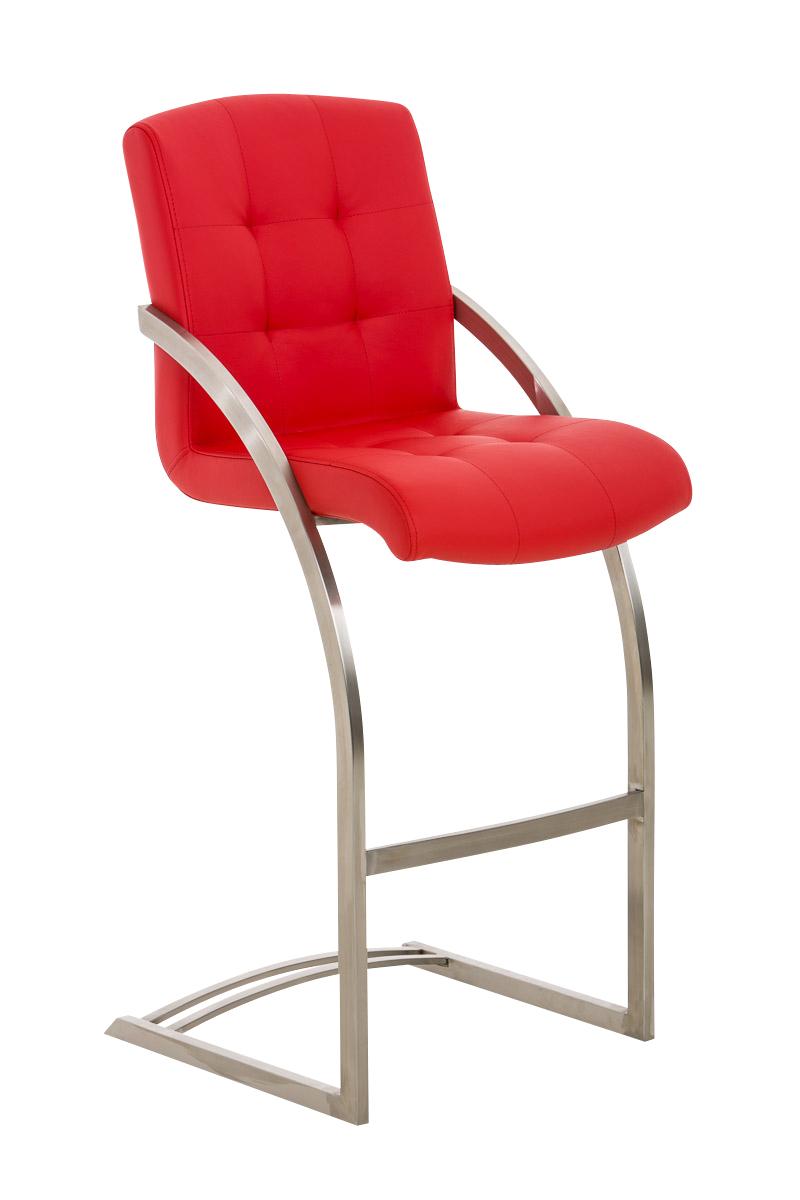 Barhocker Dakota E77-rot | Küche und Esszimmer > Bar-Möbel > Barhocker | Bauwerk Manufacture